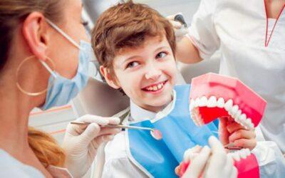 Prima visita, odontoiatria per bambini